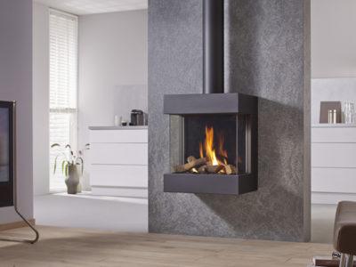 Drugasar Diablo Next wall-mounted balanced flue gas fire