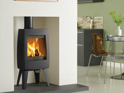 Dovre Sense 100 stove with legs