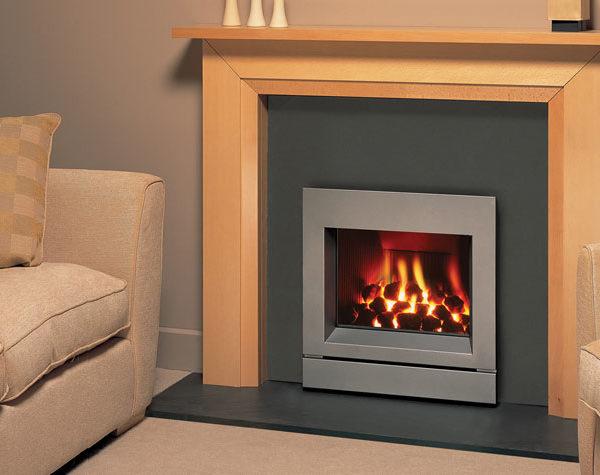 Gazco Logic Convector gas fire - moulded coals