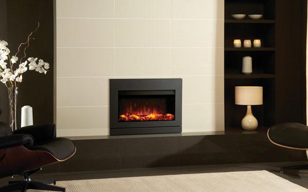 Gazco Riva2 670 Designio2 Steel electric fire