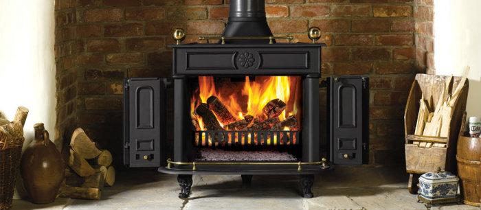Stovax Regency multi fuel stove - medium